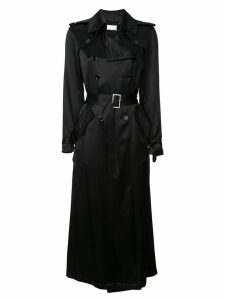 Fleur Du Mal unlined trench coat - Black