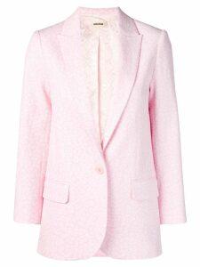 Zadig & Voltaire Viva blazer - Pink