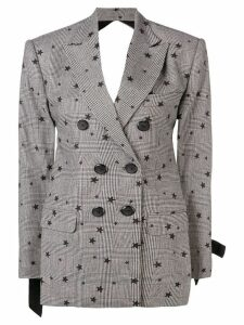 Seen Users star embellished blazer - Black