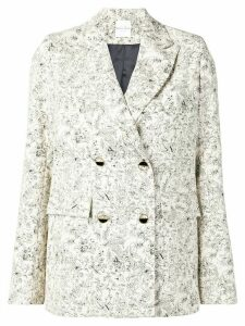 Roseanna double breasted blazer - White