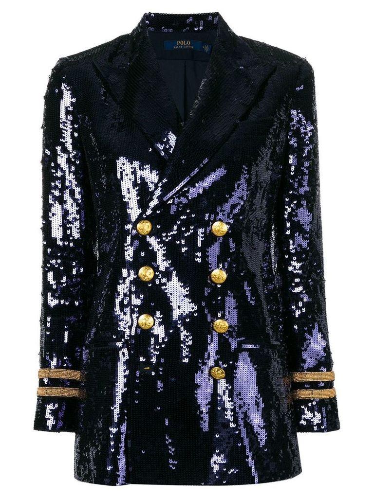 Polo Ralph Lauren sequinned blazer - Blue