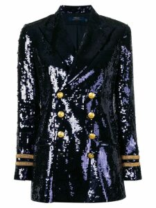Polo Ralph Lauren sequinned blazer - Blue