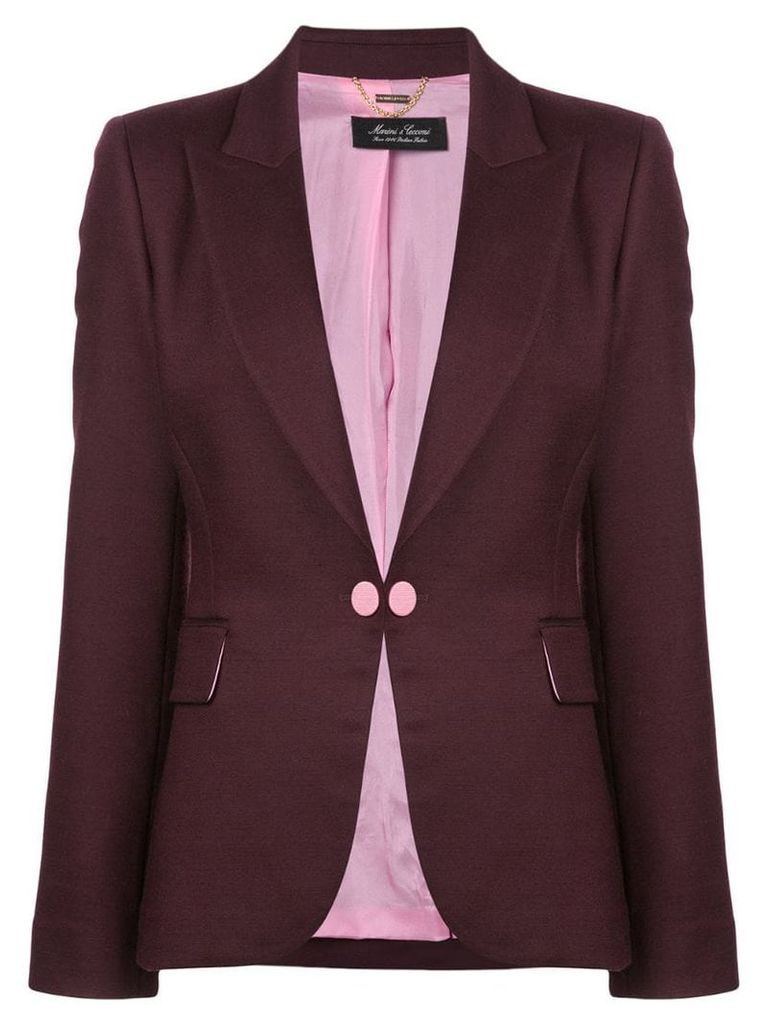 Adam Lippes double face tailored blazer - Pink