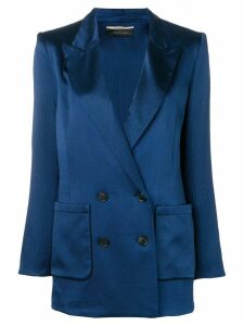 Roland Mouret Talbot double-breasted blazer - Blue