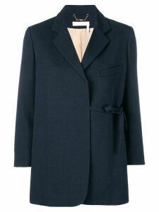 Chloé tied blazer - Blue