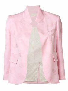 Zadig & Voltaire Verys blazer - Pink