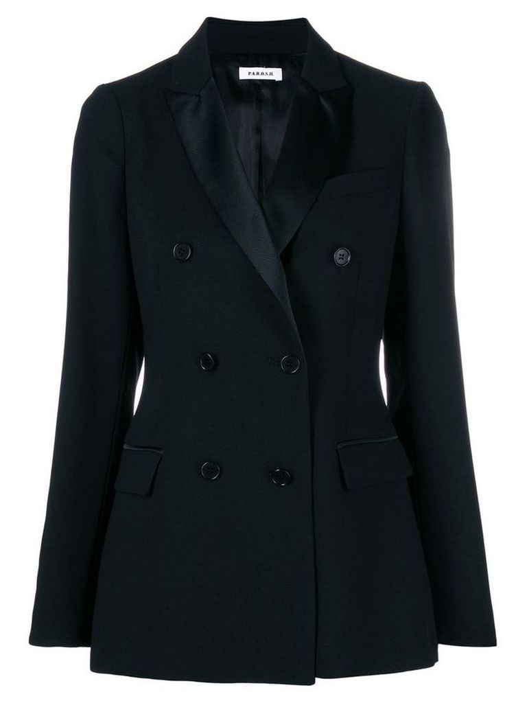 P.A.R.O.S.H. double breasted blazer - Black