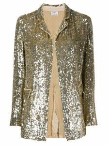 P.A.R.O.S.H. sequin blazer - Gold