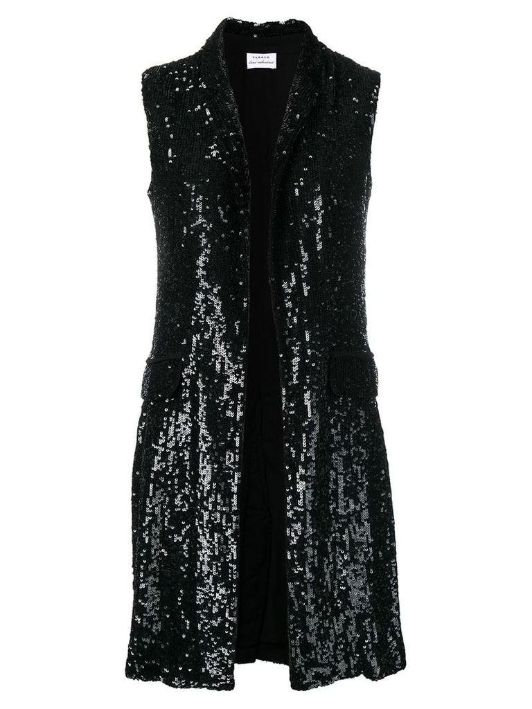P.A.R.O.S.H. sequin waistcoat - Black