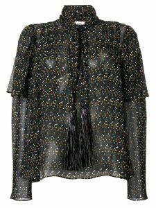 Dvf Diane Von Furstenberg dot-print blouse - Black