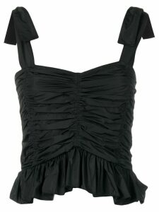 See By Chloé ruched sleeveless top - Black