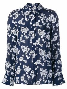 Michael Michael Kors floral printed blouse - Blue
