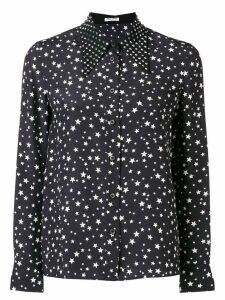 Miu Miu star print blouse - Black