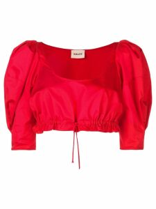 Khaite The Frankie top - Red