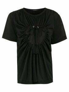 À La Garçonne Coração lace blouse - Black