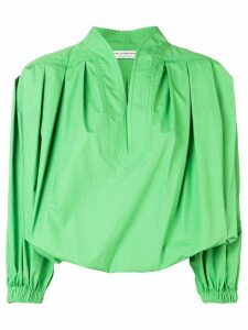 Philosophy Di Lorenzo Serafini frog draped blouse - Green