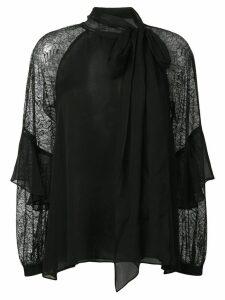 Diane von Furstenberg Mariella chiffon blouse - Black