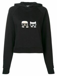 Karl Lagerfeld Ikonik hoodie - Black