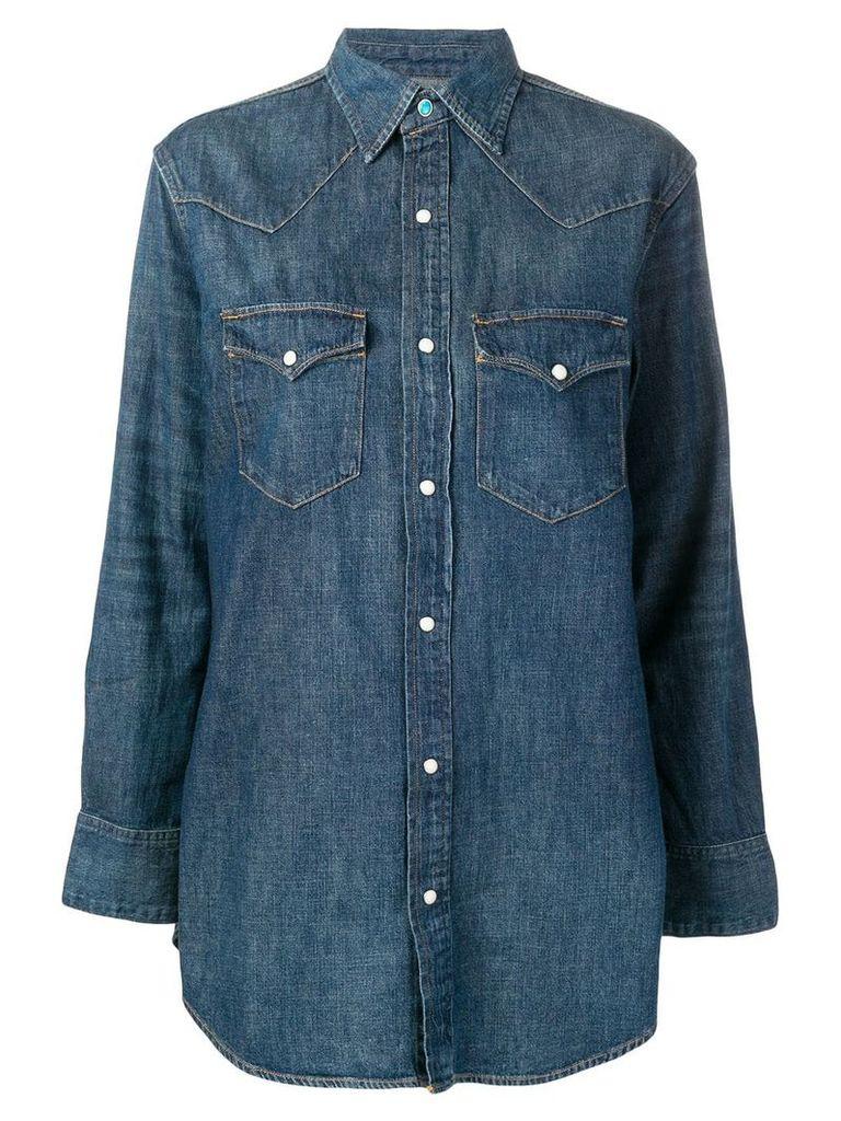 Polo Ralph Lauren denim button shirt - Blue