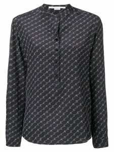 Stella McCartney logo printed shirt - Blue