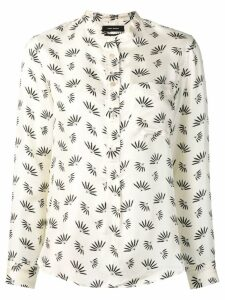 Isabel Marant Usak printed satin shirt - White