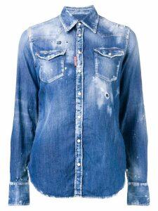 Dsquared2 Western denim shirt - Blue