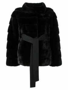 Liska Philippa coat - Black