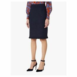 L.K.Bennett Myia Tweed Skirt, Sloane Blue