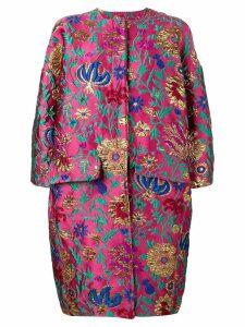 La Doublej Egg coat - Pink