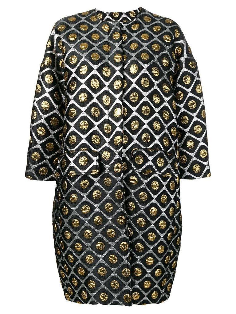 La Doublej Egg coat - Black
