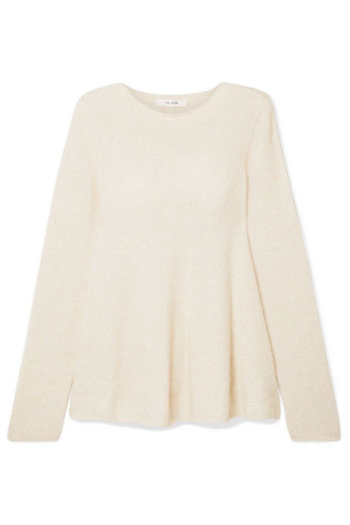 The Row - Sabel Cashmere-blend Sweater - Cream