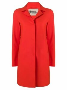 Herno mid-length coat - Orange