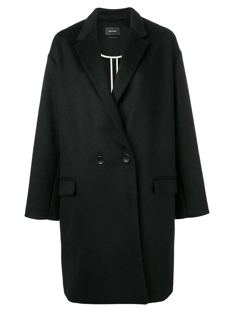 Isabel Marant oversized single-breasted coat - Black