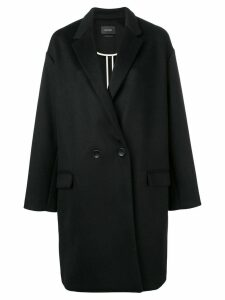 Isabel Marant oversized single-breasted coat - Black