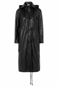 Altuzarra - Marina Hooded Leather Coat - Black