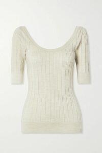 Balenciaga - Asymmetric Pleated Crepe Midi Skirt - Black