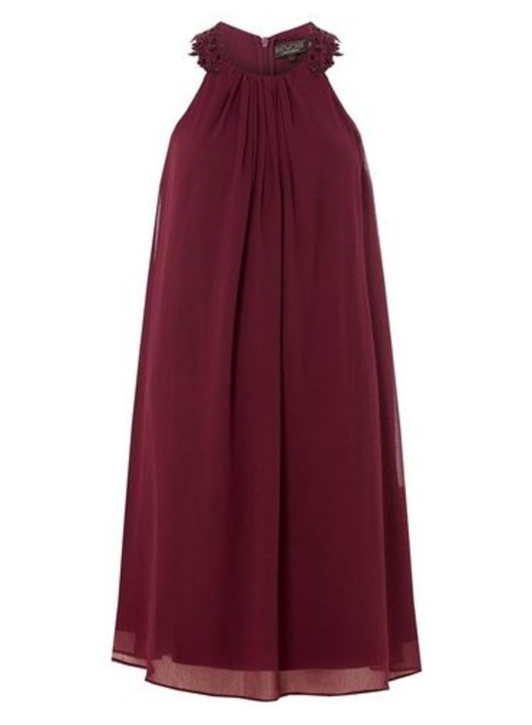 Womens **Showcase Red 'Alanna' Trapeze Dress- Red, Red