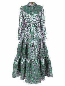 La Doublej jacquard Bellini dress - Green