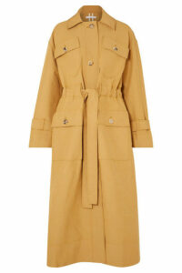 REJINA PYO - Ava Belted Gabardine Trench Coat - Neutral