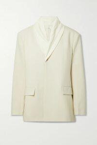 Isabel Marant Étoile - Teller One-shoulder Ruffled Printed Linen Mini Dress - Red