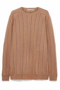 Stella McCartney - Striped Wool Sweater - Camel
