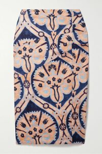 Tibi - Steward Oversized Double-breasted Stretch-crepe Blazer - Turquoise