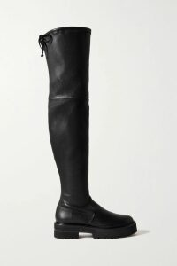 Gabriela Hearst - Wytte Linen-denim Midi Skirt - Dark denim