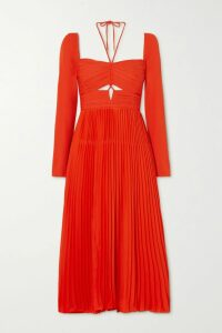 Givenchy - Two-tone Goat Hair Coat - Black