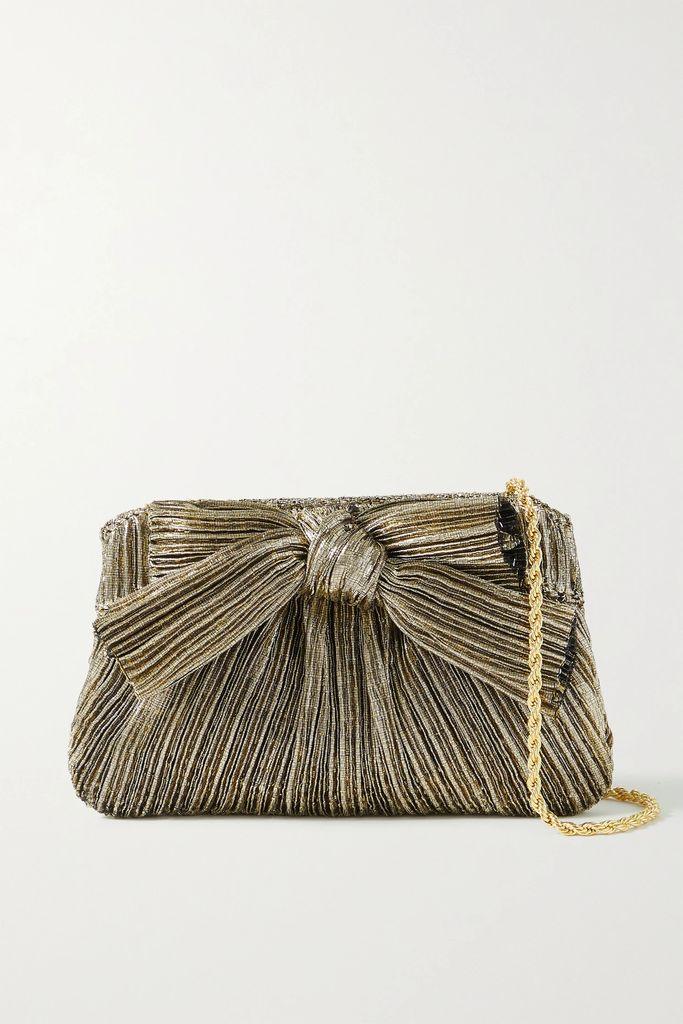 Stella McCartney - Asymmetric Printed Silk Midi Skirt - Navy