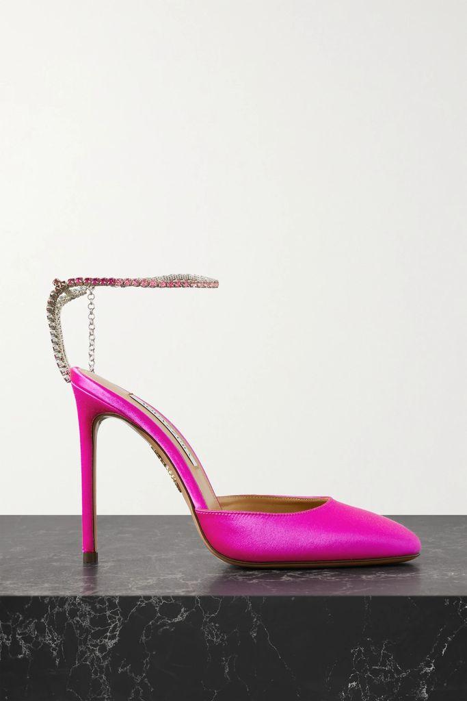 Preen Line - Sumin Asymmetric Floral-print Crepe De Chine Skirt - Black