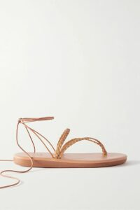 ROTATE Birger Christensen - Satin Wrap Maxi Dress - Black