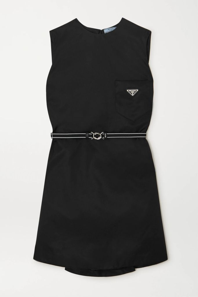 ROTATE Birger Christensen - Gathered Metallic Stretch-knit Midi Dress - Sky blue