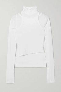 Galvan - Whiteley Open-back Silk-satin Dress - Fuchsia