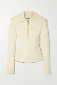 Nili Lotan - Jamie Silk-satin Mini Dress - Black